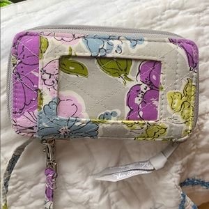 Vera Bradley Wristlet / Wallet with ID pocket